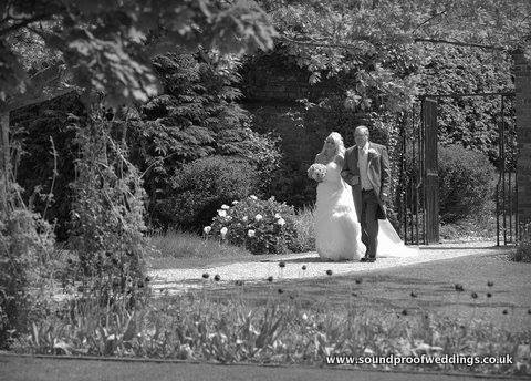 Lindsey's emotional bridal march