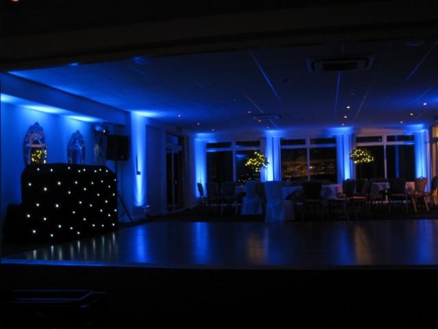 Mood lighting blue