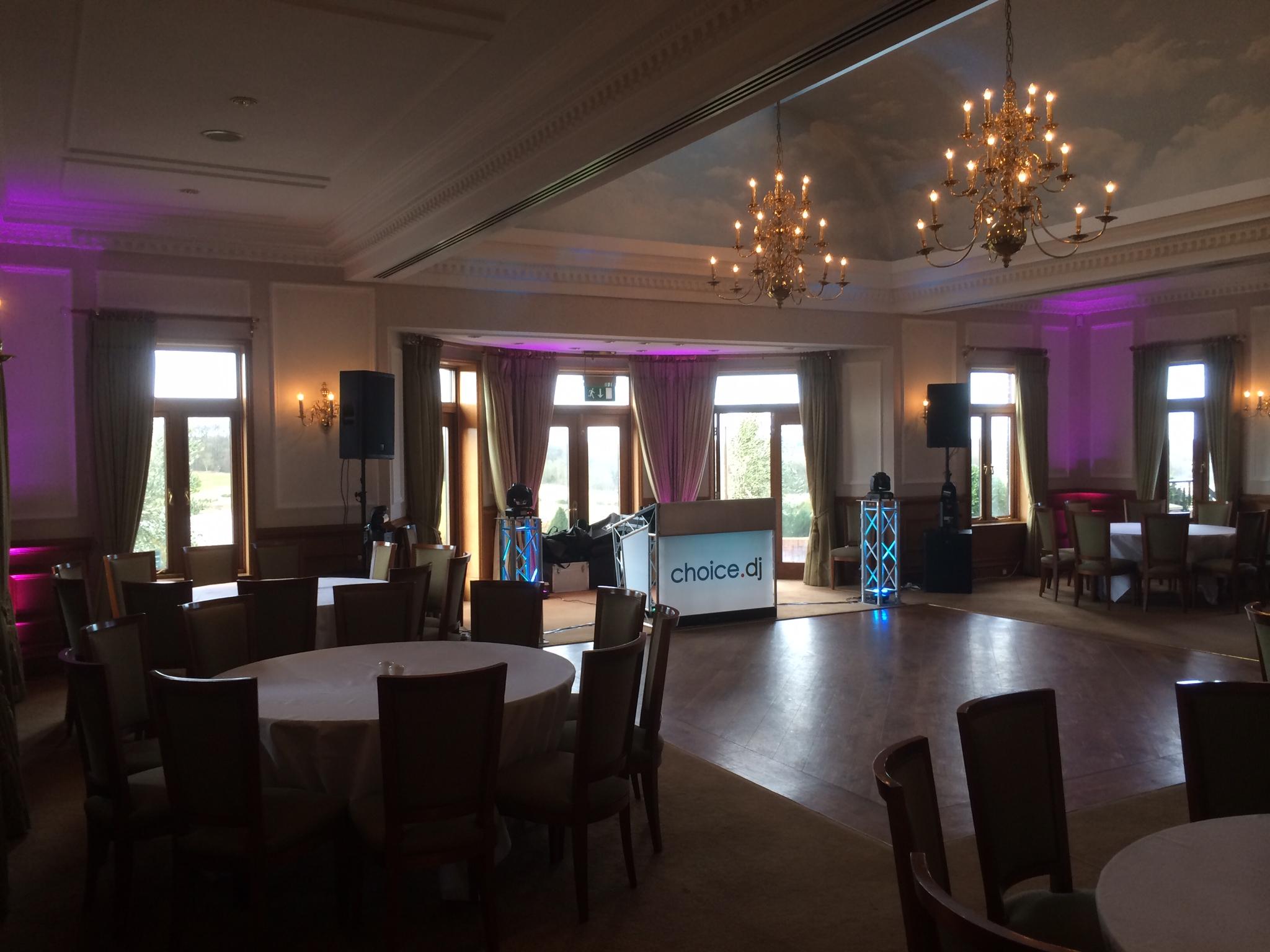 Sandras Party – The London Golf Club, Kent 8/2/2014
