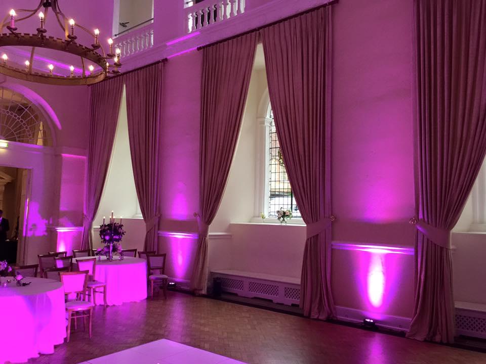 farnham castle uplighting