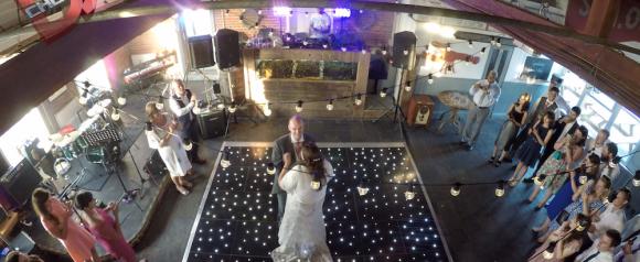 black starlit dance floor kent