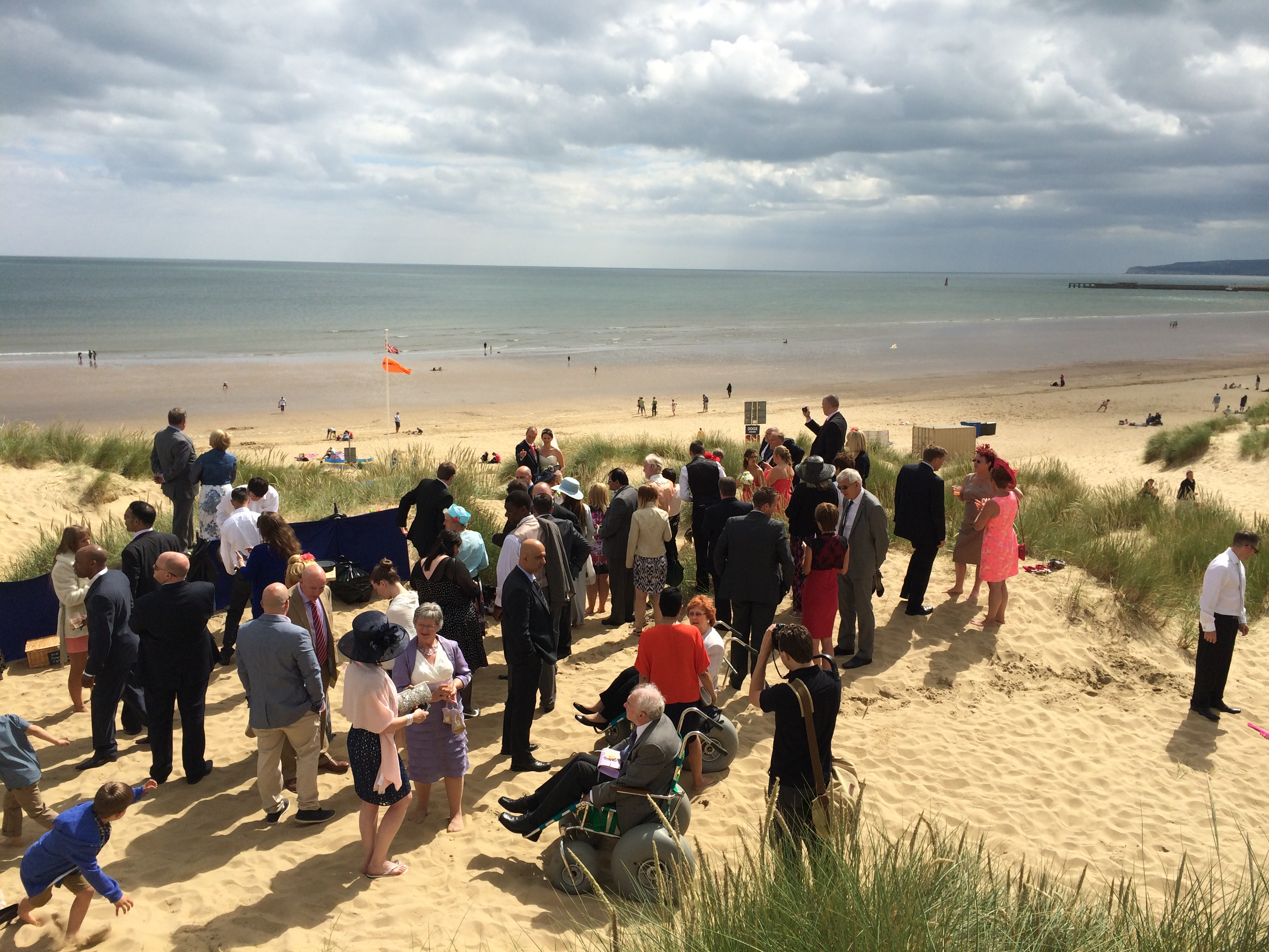 The Gallivant Hotel, Camber Sands – Claire & Vince, 15/6/2014