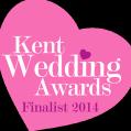 Kent Wedding Awards Finalist 2013 and 2014