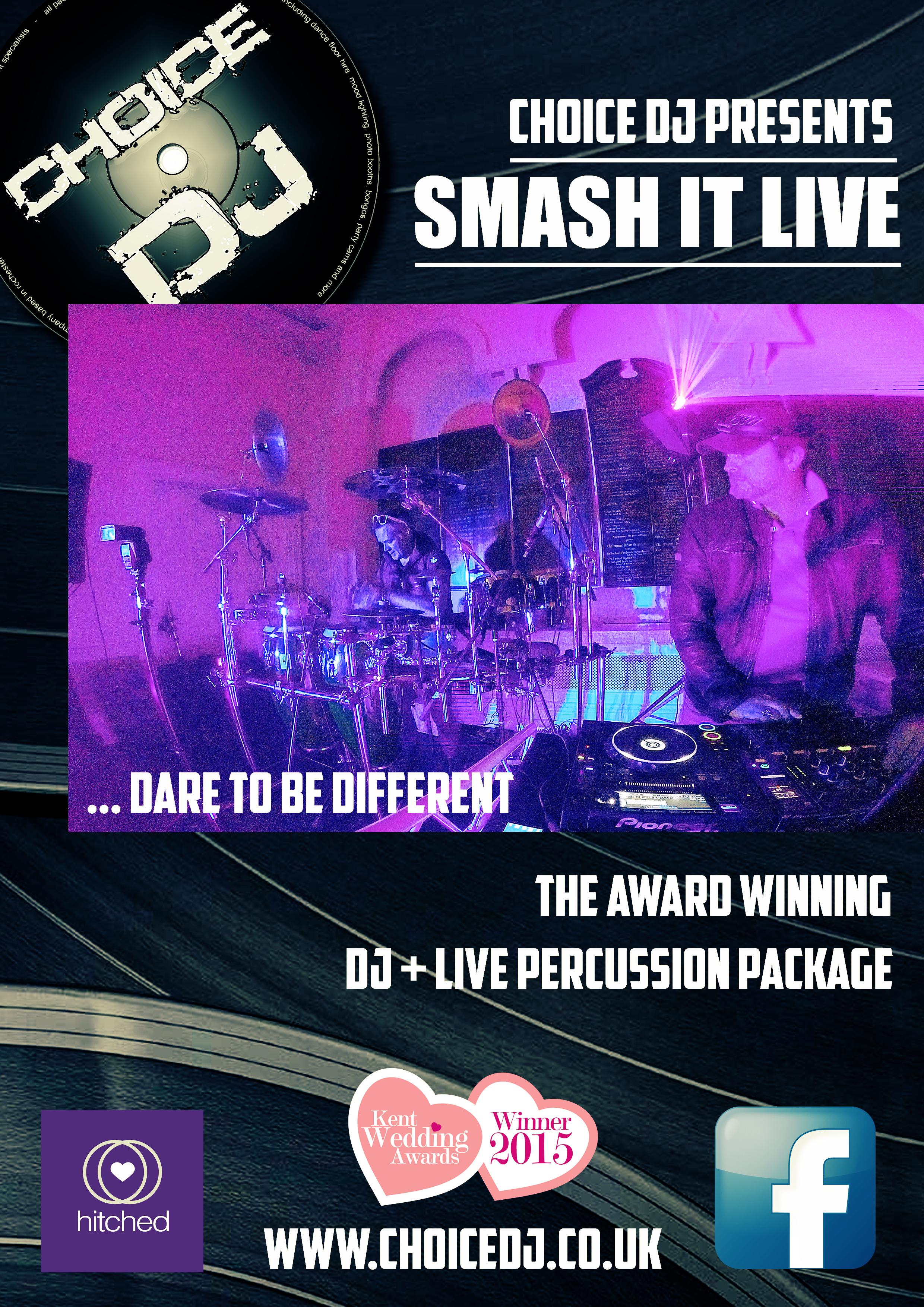 smash it live flyer