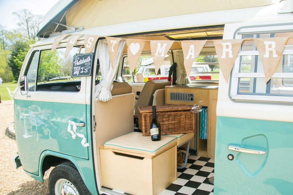 VW Camper Van Photo Booth Kent
