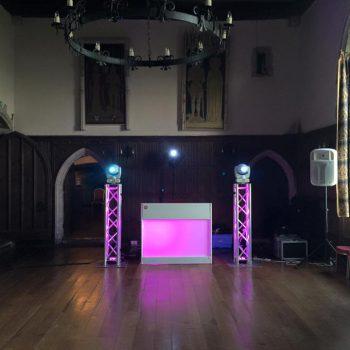 mobile disco lympne castle
