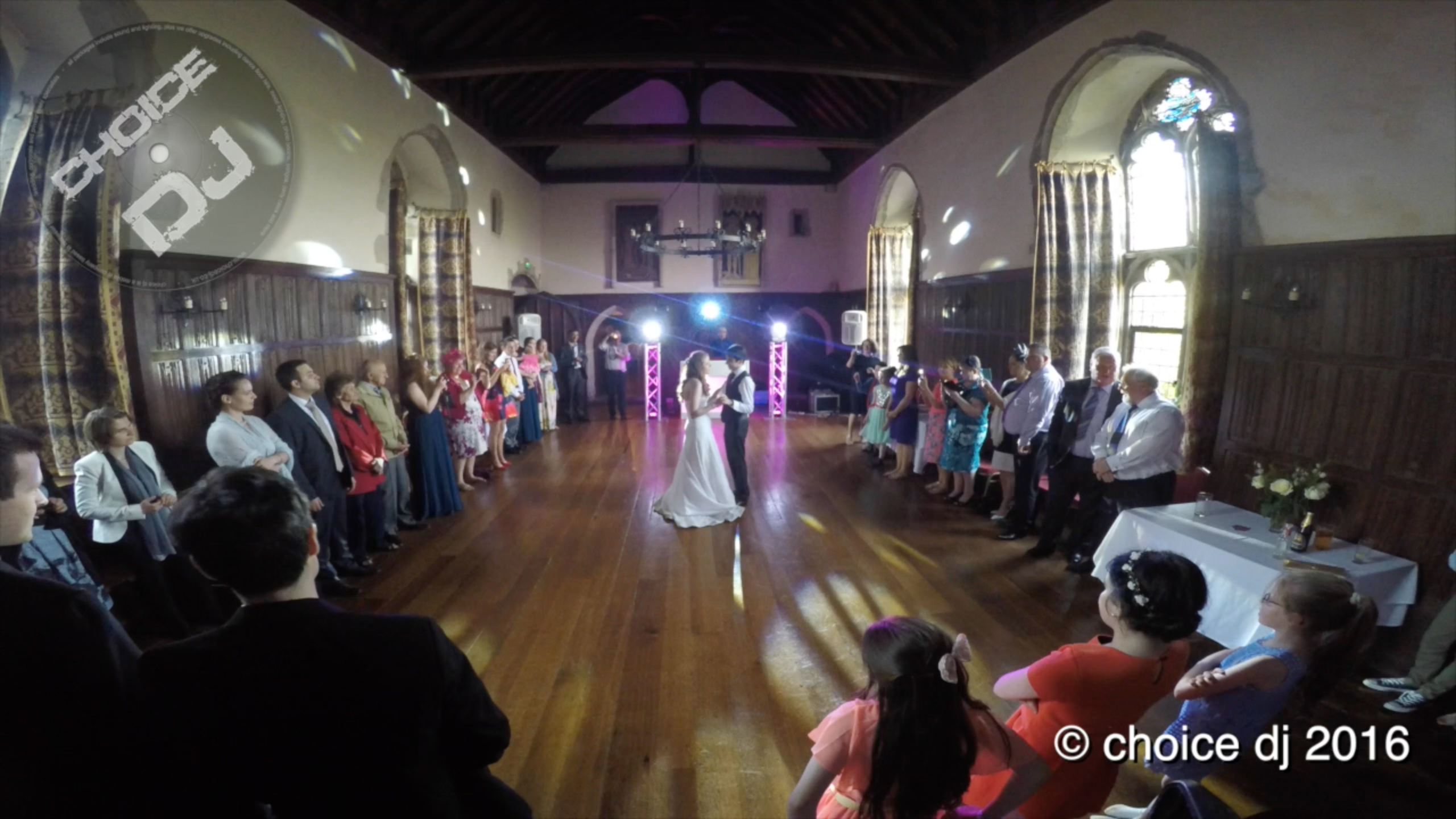 Lympne Castle, Kent – Emily & Alex 6/6/2016