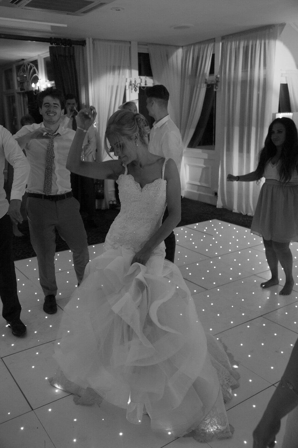 chilston park orangery starlit dance floor