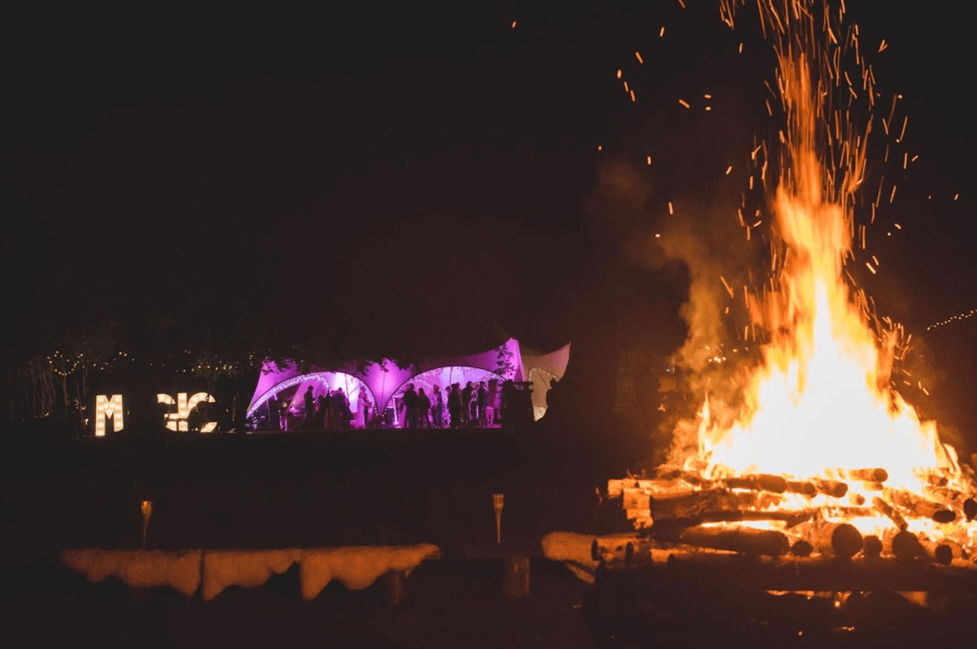festival wedding venue kent