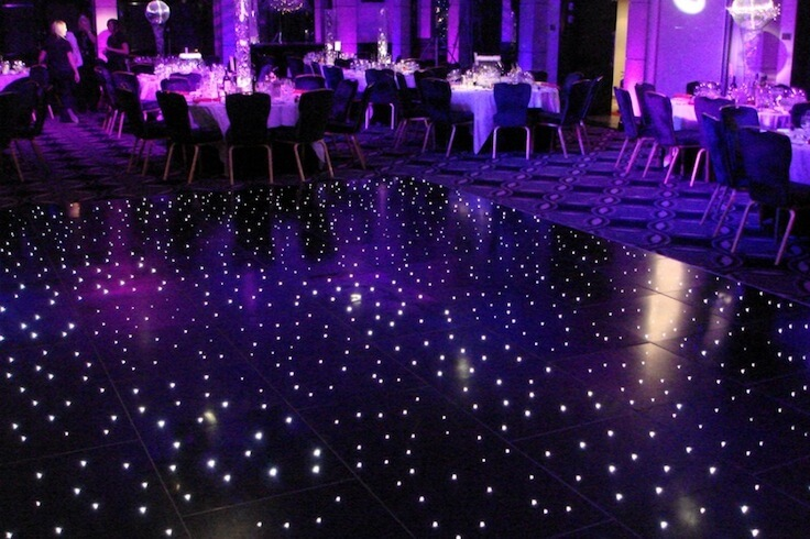 Black Starlit Dance Floor
