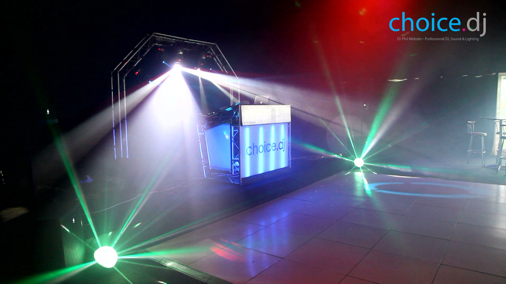 VIDEO: Latest CHOICE.DJ Light Show
