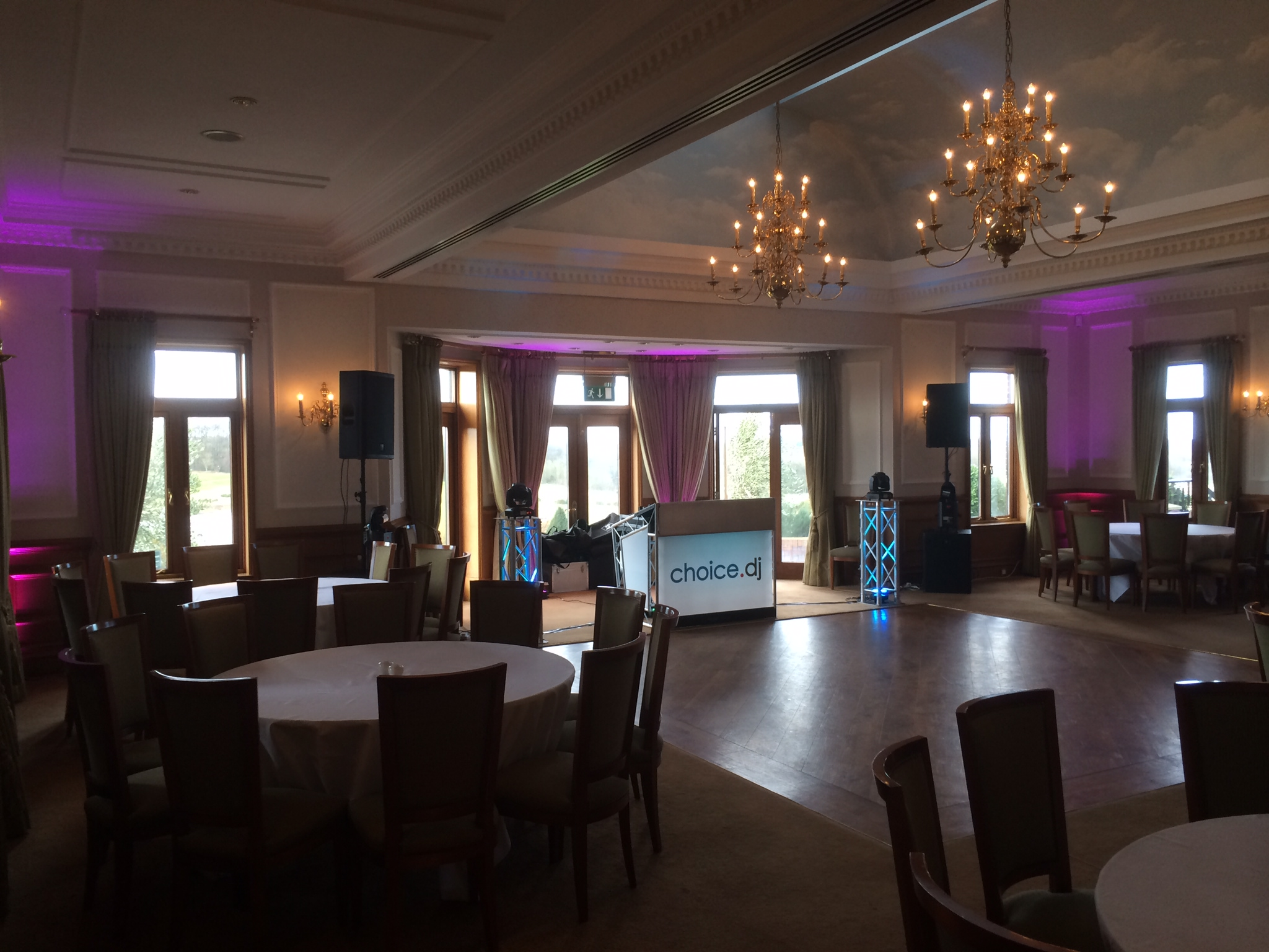 Sandras Party – The London Golf Club, Kent 8/2/2014