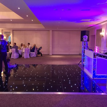 stoke by nayland golf club black starlit dancefloor