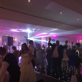 stoke by nayland golf club wedding disco
