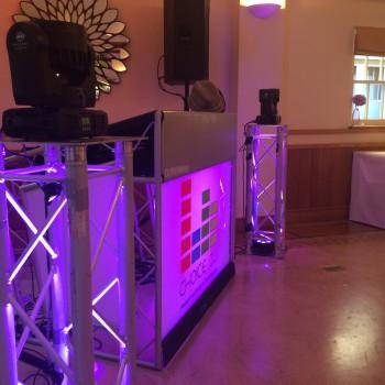 quex park wedding dj disco
