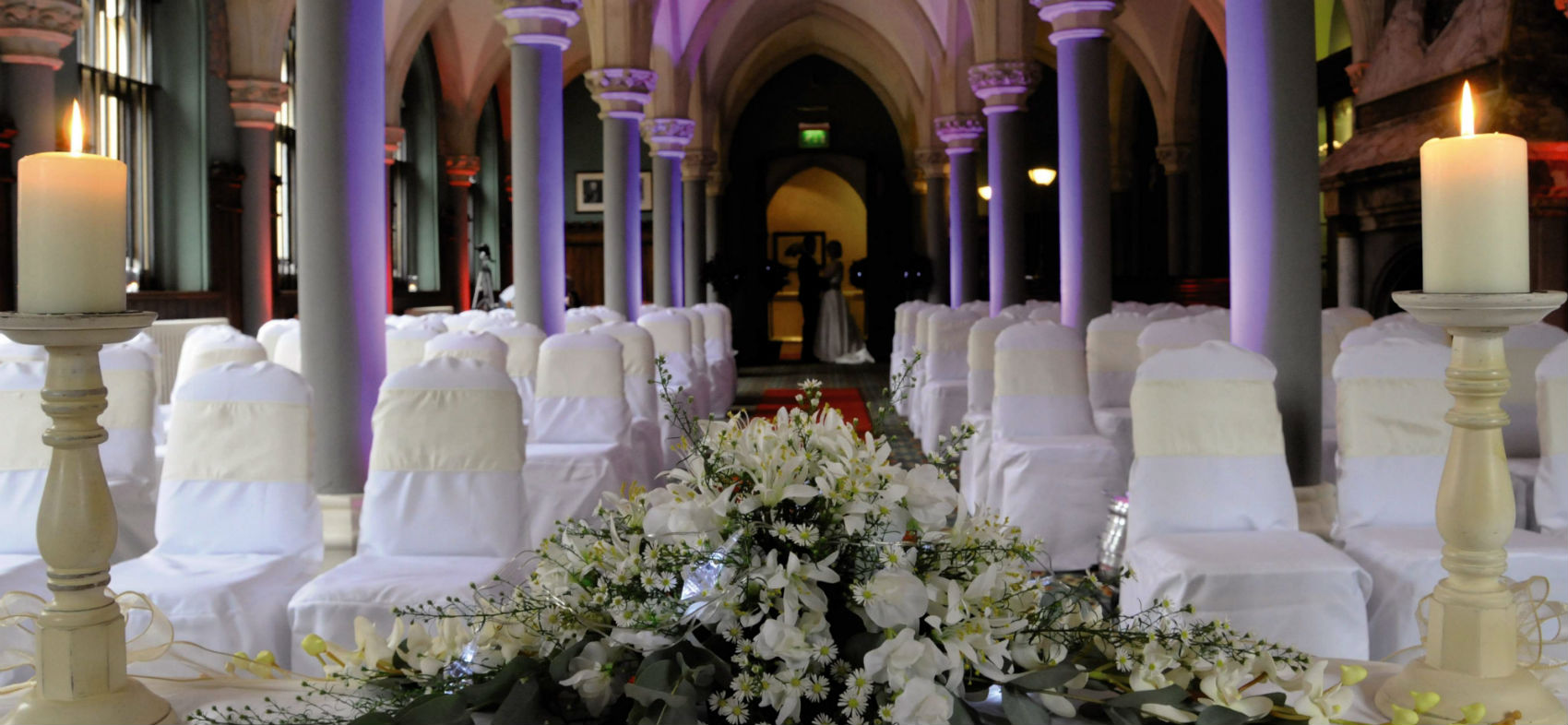 Wotton House, Dorking – Draping & Uplighting