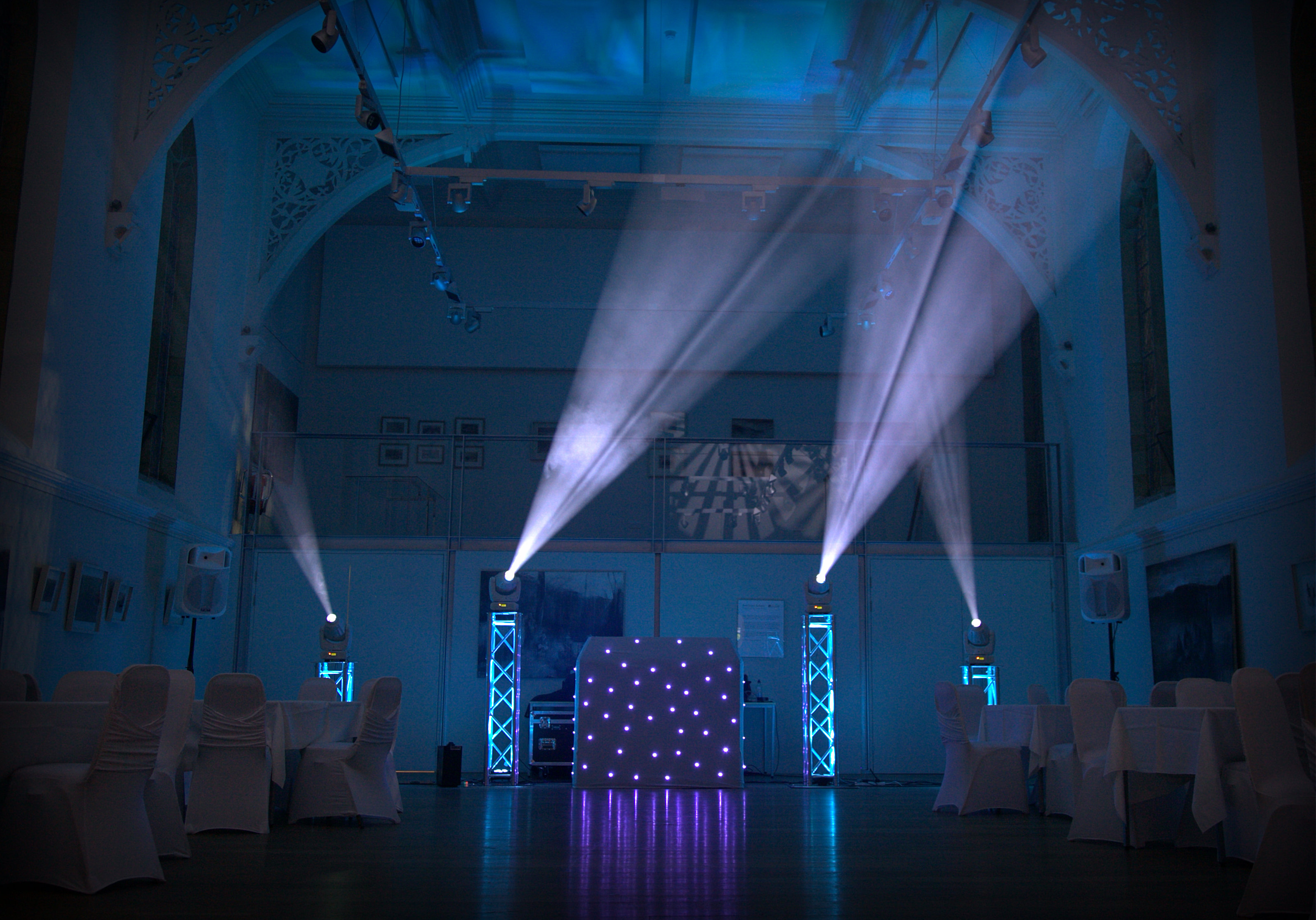 White DJ Booth …Book Yours Now !