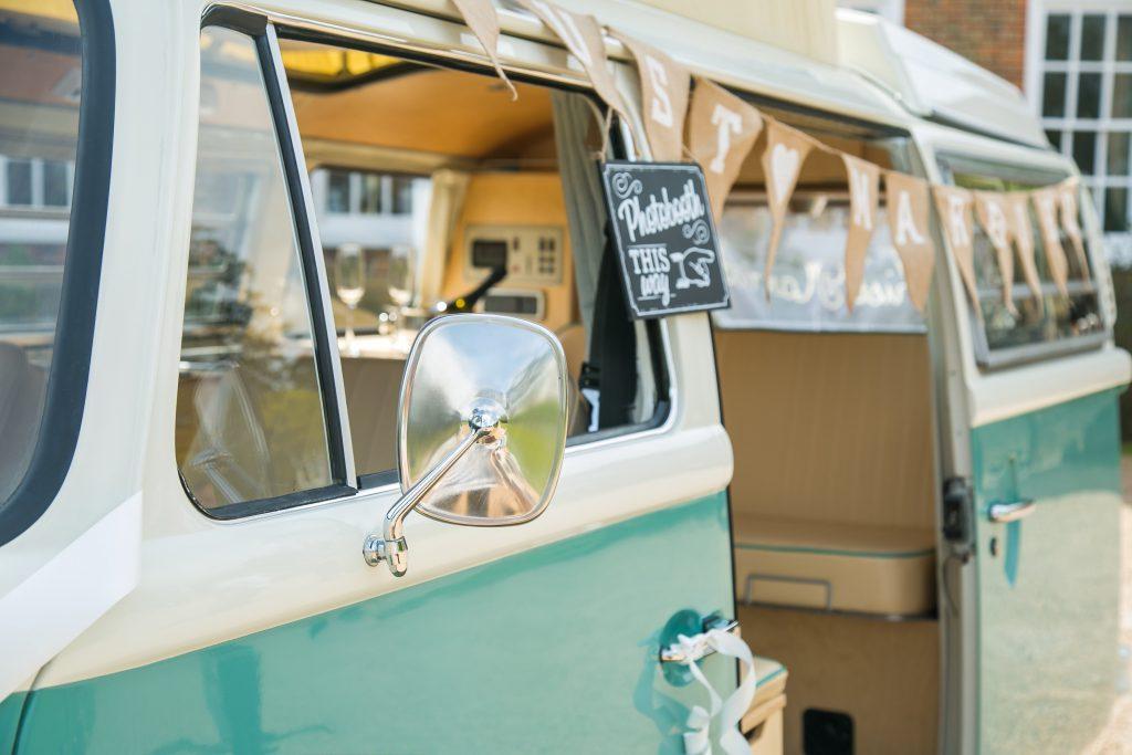 VW Camper Van Photo Booth Kent