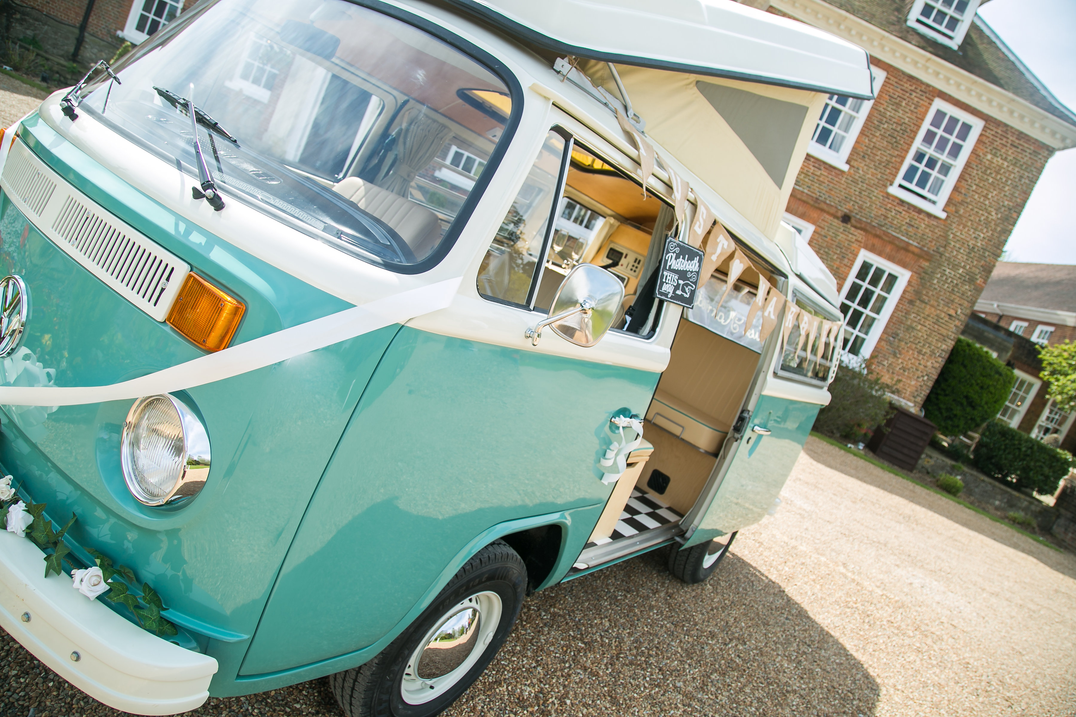 VW Camper Van Hire at CHOICE DJ