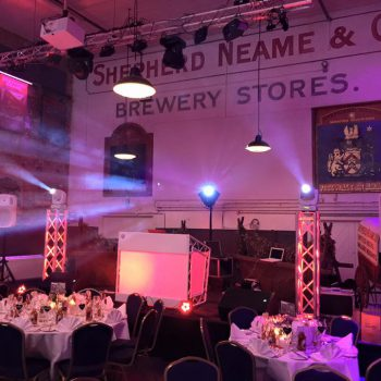 the old brewery store wedding disco