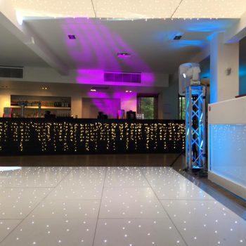 starlit dance floor stoke place