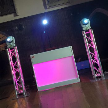 mobile disco lympne castle