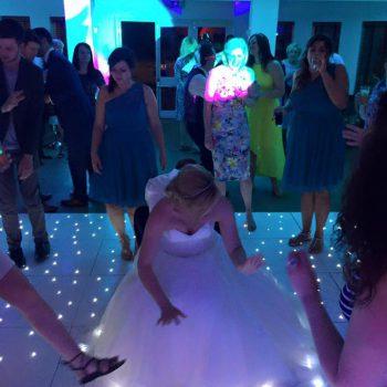 stoke place wedding dance floor