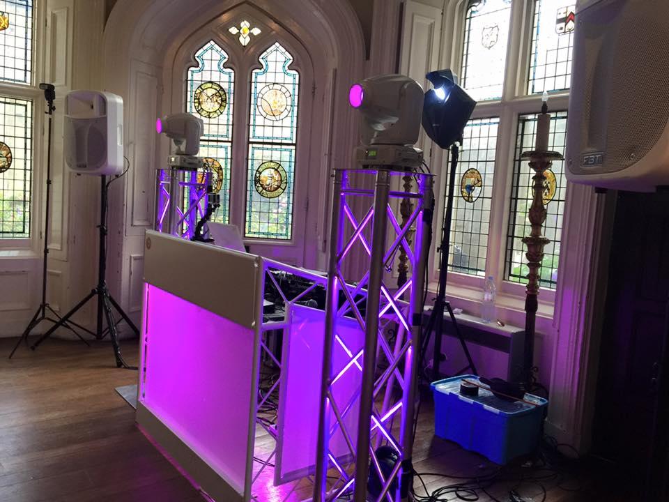 chiddingstone castle wedding disco