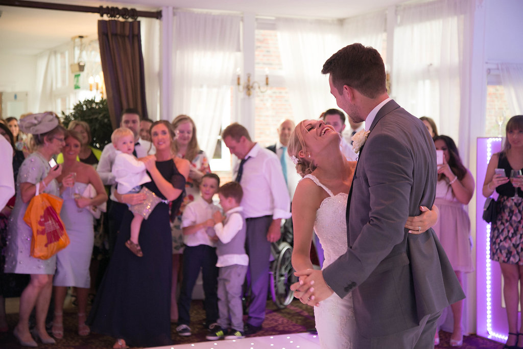 chilston park orangery first dance