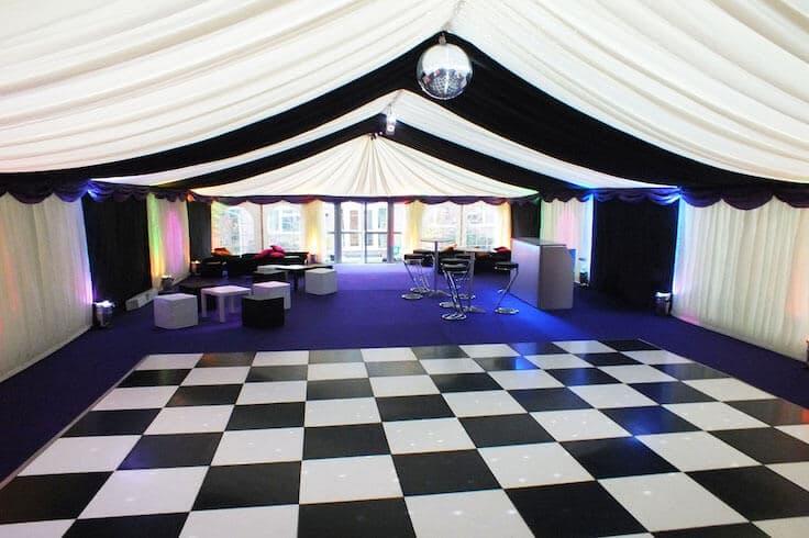 Chequered Dance Floor