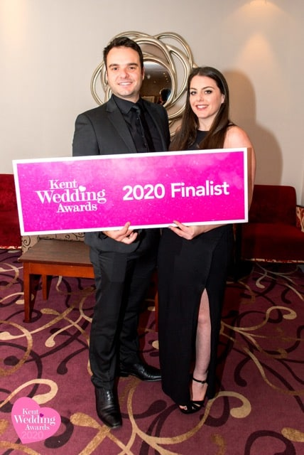 2020 Kent Wedding Awards Finalist
